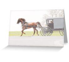 Sunday Ride Greeting Card