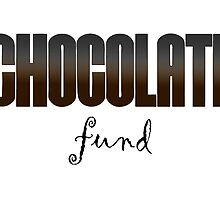 Chocolate Fund Pouch by Chris Singley