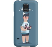 I love sea Samsung Galaxy Case/Skin
