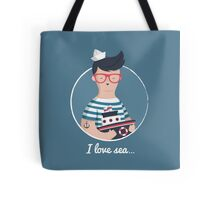 I love sea Tote Bag