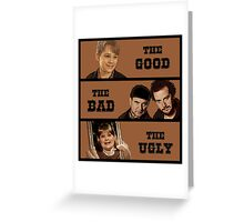 Home Alone T Shirt - The Good The Bad and The Ugly Greeting Card