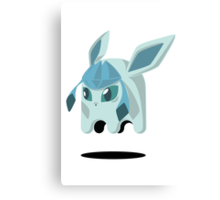 Glaceon Ghost Canvas Print
