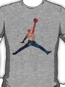 Galaxy Jump Man T-Shirt