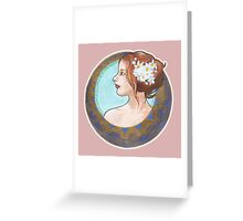 Golden Girl Greeting Card