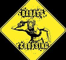 Badass Crossing by WondraBox