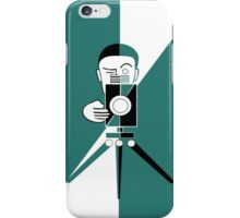 Deco style  photographer iPhone Case/Skin