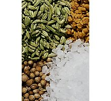Mix of Spices Photographic Print