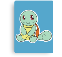 #7 Squirtle Canvas Print