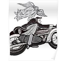 Angel and the Motorcyclist   Poster