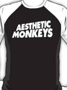 """""""AESTHETIC MONKEYS"""" DESIGN (White Print) T-Shirt"""