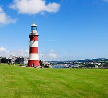 Smeaton's Tower: Lighthouse on Plymouth Hoe by DonDavisUK