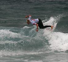 Junior Surfing Titles, NSW - Werrie Beach #3 by Noel Elliot