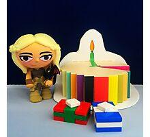 Mini Daenerys Birthday Photographic Print