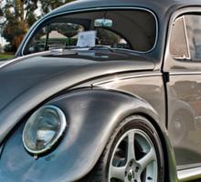 Volkswagen Beetle Oval in Gunmetal Grey  Sticker