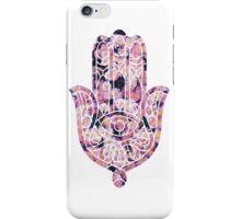 Pink Daisy Hamsa iPhone Case/Skin