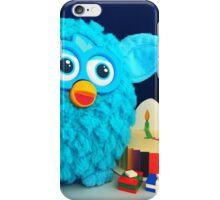 Blue Furby Birthday iPhone Case/Skin