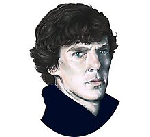 A tribute to Sherlock Photographic Print