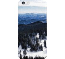 Snowy Ridges - Impressions of Mountains iPhone Case/Skin