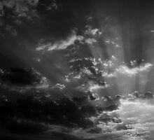 Black & White Sunset by AjayP