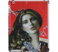 Red girl iPad Case/Skin