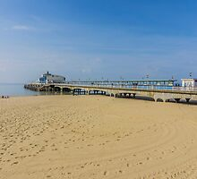 The Pier at Bournemouth Beach  by martinlogan
