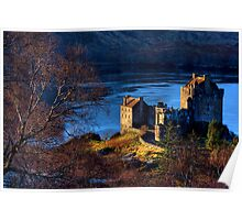 Eilean Donan Castle from Carr Brae. Dornie, Western Highlands of Scotland. Poster