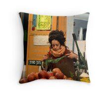 Pomegranate juice Throw Pillow
