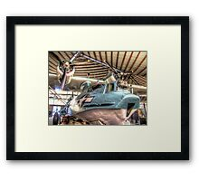 The Perth American PBY Catalina - HDR Framed Print