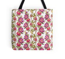 Fantasy garden, watercolor painted flowers Tote Bag