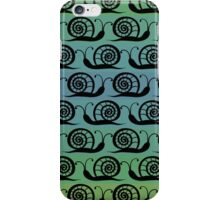 Pattern with snails iPhone Case/Skin