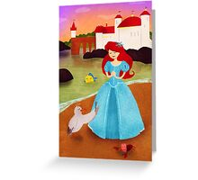The Little Marmaid Greeting Card