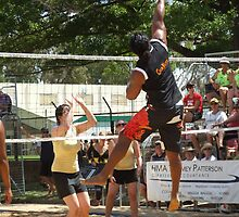 Coota Beach Volleyball by SharonD