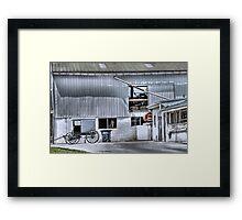 Barn n' Buggy Framed Print