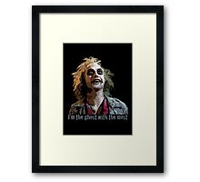 The ghost with the most Framed Print