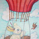 Up Up and Away with Redbubble by Lorna Gerard
