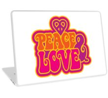 Love and Peace Laptop Skin