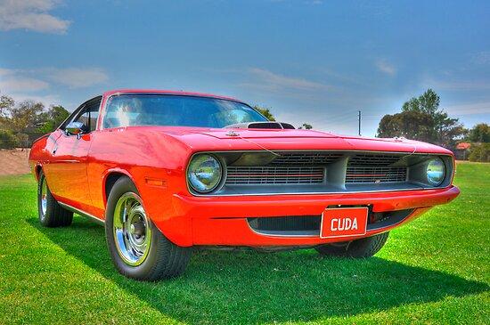 Plymouth Barracuda by Clintpix