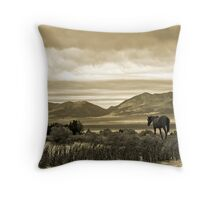 Twilight Panorama Throw Pillow