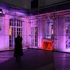 Berlin night scene - Sony center, purple lighting by ShotByArlo