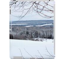 Winter Fields & Woods iPad Case/Skin