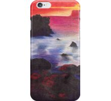 The Rock at Sunset iPhone Case/Skin