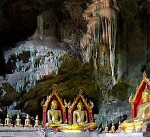 Cave Buddhas by Dave Lloyd