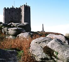 Carn Brea Castle by Pacey
