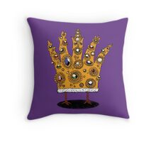King of What Throw Pillow