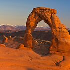 Delicate Arch Sunset by Robert Yone