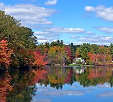 Reflections of Autumn by Leona Bessey