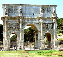 The Arch Of Constantine, Rome, Italy by hojphotography