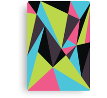 Triangle Composition Canvas Print