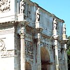 Statues on The Arch of Constantine, Rome, Italy by hojphotography