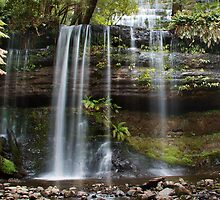 Russell Falls, Mt Field National Park, Tasmania by Roger Barnes